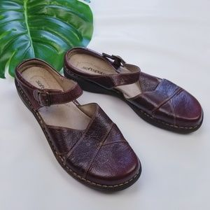 Soft spots Genuine Leather Comfort Slip On Shoes